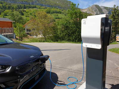borne recharge VE Annecy